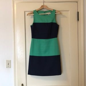 Banana Republic cotton stitched dress